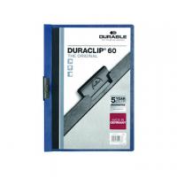 CARTELLA DURACLIP MM6 FOGLI 60 BLU