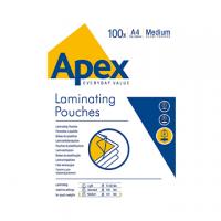 BUSTA PLASTIFICATRICE APEX A4 125MY CF.100