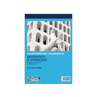 BLOCCO DATA UFFICIO INTERVENTO A DOMICILIO DEL CLIENTE 2 COPIE 21X15 PG50