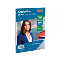 COPERTINA CRISTAL A4 VERDE 180MY CF.100