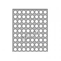 ETICHETTA ADESIVA MARKIN D.20 MM CF.100 PERMANENTI R300 BIANCA
