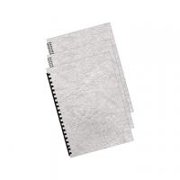 COPERTINA FELLOWES CARTONCINO A4 DELTA CF.100 GRIGIO GR.250