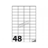 ETICHETTA ADESIVA MARKIN 52,5X24,75 CF.100