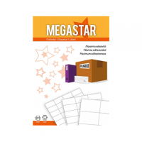 ETICHETTA TICO MEGASTAR 63X46 CF.100
