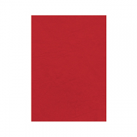COPERTINA FELLOWES CARTONCINO A4 DELTA CF.100 ROSSO SCURO GR.250