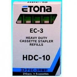 PUNTI CUCITRICE ETONA EC-3 HDC-10 MM10 VERDE CF.1050