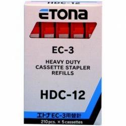 PUNTI CUCITRICE ETONA EC-3 HDC-12 MM12 ROSSO CF.1050