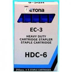 PUNTI CUCITRICE ETONA EC-3 HDC-6 MM6 BLU CF.1050