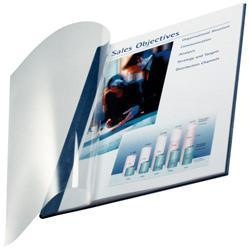 COPERTINA LEITZ TRASPARENTE IMPRESSBIND MM3,5 CF.10 BIANCO