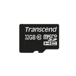 SCHEDA MEMORIA TRASCEND SD 32GB TS32GUSD HC10