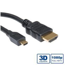 CAVO HDMI-A MICRO HDMI 2MT RO11.99.5581